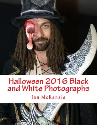 Halloween 2016 Black and White Photographs Cover Image