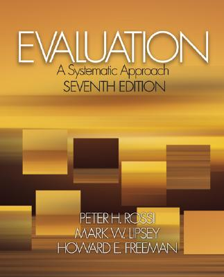 Evaluation: A Systematic Approach Cover Image
