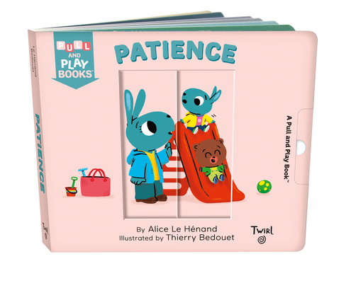 Patience: A Pull-the-Tab Book (Pull and Play #8) Cover Image