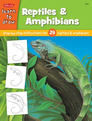 Learn to Draw Reptiles & Amphibians Cover
