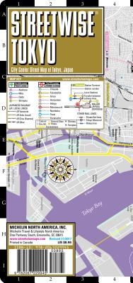 Streetwise Tokyo Map - Laminated City Center Street Map of Tokyo, Japan (Michelin Streetwise Maps) Cover Image