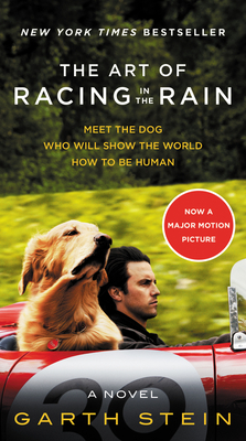 The Art of Racing in the Rain Movie Tie-in Edition: A Novel Cover Image