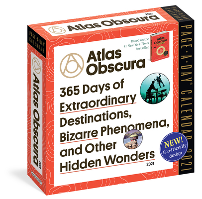 Atlas Obscura Page-A-Day Calendar 2021 Cover Image