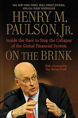 On the Brink: Inside the Race to Stop the Collapse of the Global Financial System Cover Image