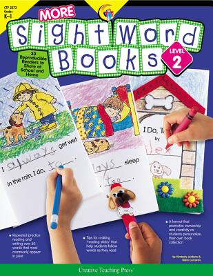 More Sight Word Books: Reproducible Readers to Share at School and Home Cover Image