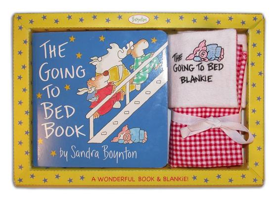 Sandra Boynton's The Going to Bed Book! & Embroidered Blankie Cover
