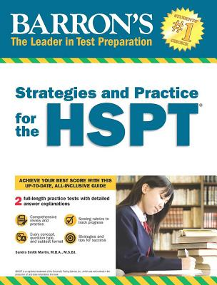 Strategies and Practice for the HSPT Cover Image