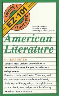 American Literature (EZ-101 Study Keys) Cover Image