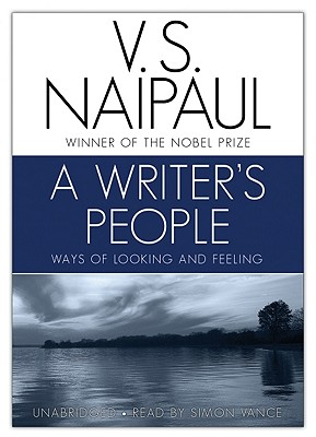 A Writer's People: Ways of Looking and Feeling Cover Image