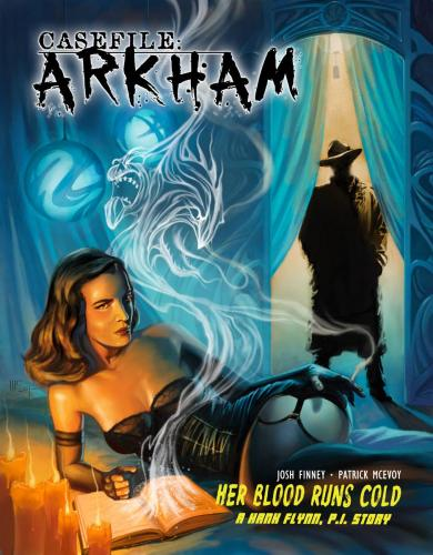 Casefile: ARKHAM - Her Blood Runs Cold Cover Image