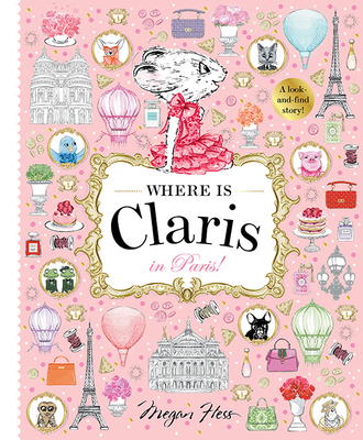 Where is Claris? In Paris: A Look and Find Book Cover Image