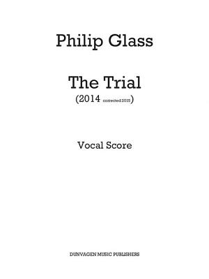 The Trial: Vocal Score Cover Image