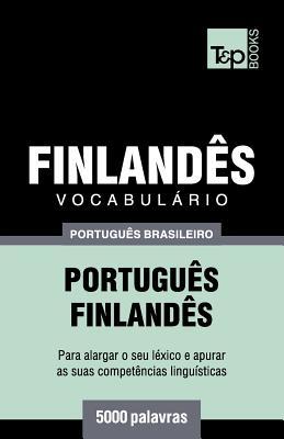 Vocabulário Português Brasileiro-Finlandês - 5000 palavras Cover Image