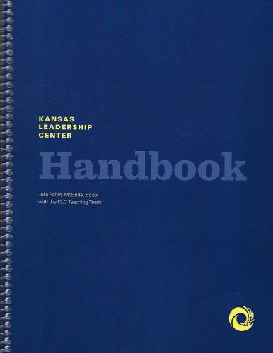 Kansas Leadership Center Handbook Cover Image