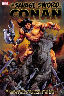 Savage Sword of Conan: The Original Marvel Years Omnibus Vol. 6 Cover Image