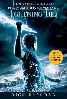 Percy Jackson and the Olympians, Book One The Lightning Thief (Movie Tie-In Edition) (Percy Jackson & the Olympians) Cover Image