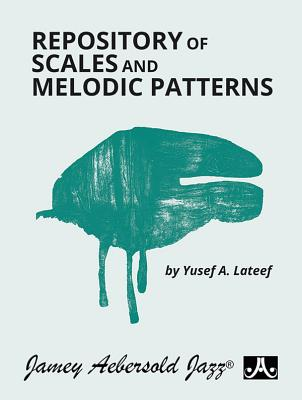 Repository of Scales and Melodic Patterns: Spiral-Bound Book Cover Image