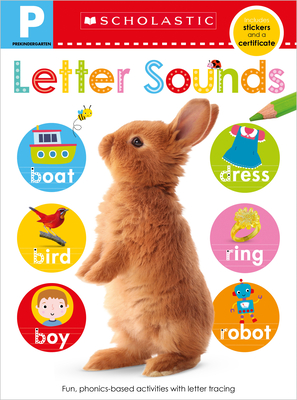 Letter Sounds Pre-K Workbook: Scholastic Early Learners (Skills Workbook) Cover Image