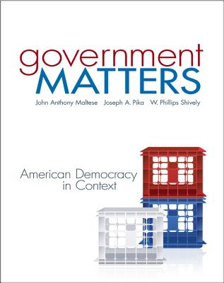 Government Matters: American Democracy in Context Cover Image
