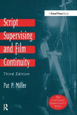 Script Supervising and Film Continuity Cover Image