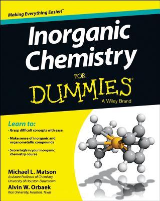 Inorganic Chemistry for Dummies Cover Image