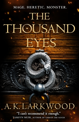The Thousand Eyes (The Serpent Gates #2) Cover Image