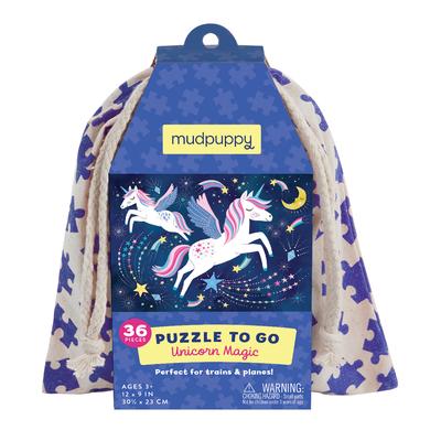 Unicorn Magic Puzzle to Go Cover Image