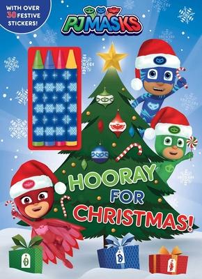 PJ Masks: Hooray for Christmas! Cover Image
