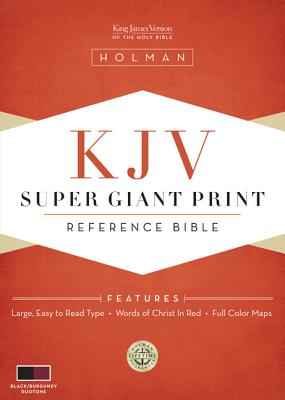 Super Giant Print Reference Bible-KJV Cover