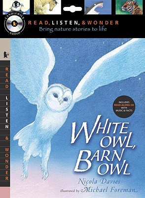 White Owl, Barn Owl [With Paperback Book] Cover