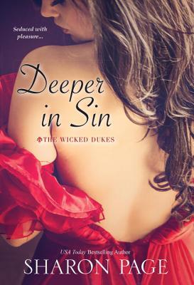 Deeper In Sin (The Wicked Dukes #2) Cover Image