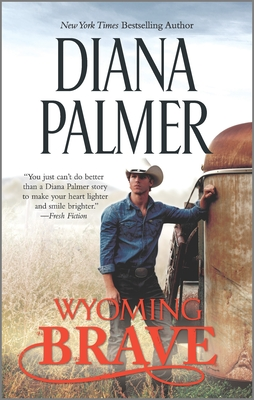 Wyoming Brave: A Contemporary Western Romance (Wyoming Men #6) Cover Image