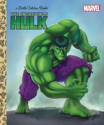 The Incredible Hulk (Marvel: Incredible Hulk) (Little Golden Book) Cover Image