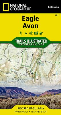 Eagle, Avon (National Geographic Maps: Trails Illustrated #121) Cover Image