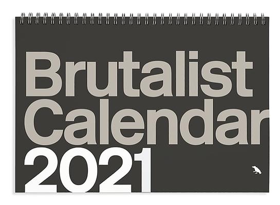 Brutalist Calendar 2021 Cover Image