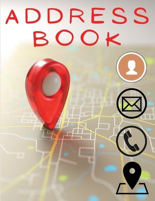 Address Book: Wonderful Address Book With Tabs For Men And Women. Small Address Book And Ideal Address Books For Women For Their Eas Cover Image