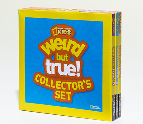 Weird But True Collector's Set (Boxed Set): 1,050 Outrageous Facts Cover Image