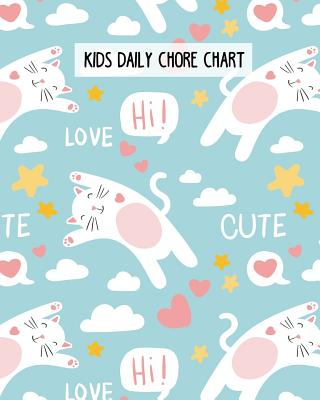 Kids Daily Chore Chart: Daily, Weekly and Bonus Task Chore Chart for Kids. Cover Image