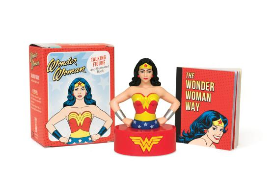 Wonder Woman Talking Figure and Illustrated Book (RP Minis) Cover Image