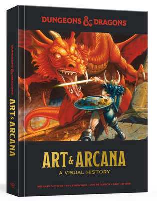 Dungeons and Dragons Art and Arcana: A Visual History Cover Image