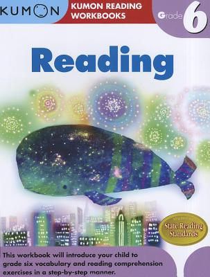 Reading Grade 6 (Kumon Reading Workbooks) cover