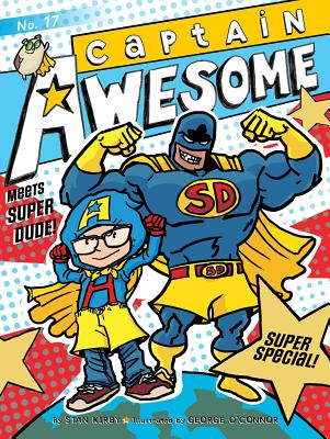 Captain Awesome Meets Super Dude!: Super Special Cover Image