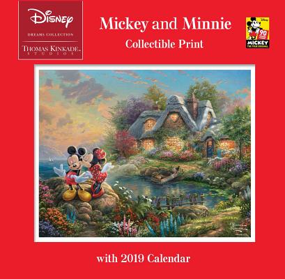 Thomas Kinkade Studios: Disney Dreams Collection Mickey and Minnie Collectible P Cover Image
