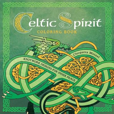Celtic Spirit Coloring Book Cover