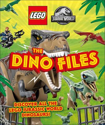 LEGO Jurassic World The Dino Files: Discover all the LEGO Jurassic World Dinosaurs! Cover Image