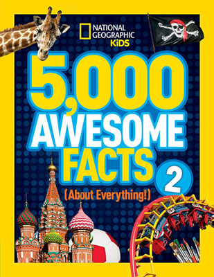 5,000 Awesome Facts (About Everything!) 2 Cover Image