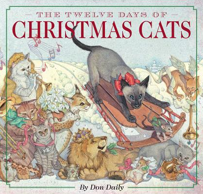 Cover for The Twelve Days of Christmas Cats (Hardcover)