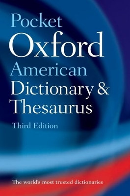 Pocket Oxford American Dictionary and Thesaurus Cover Image