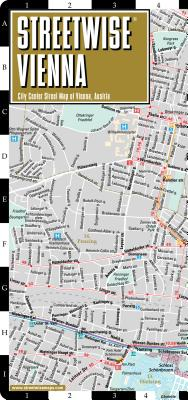 Streetwise Vienna Map - Laminated City Center Street Map of Vienna, Switzerland (Michelin Streetwise Maps) Cover Image