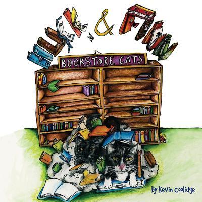 Huck & Finn, Bookstore Cats Cover Image